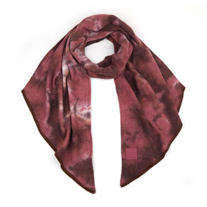 CC Brown/Wild Ginger Tie Dye Scarf