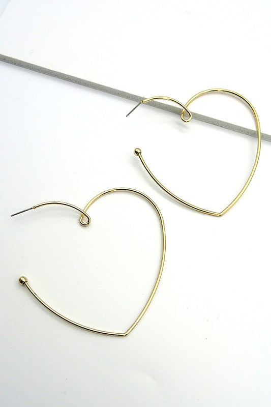Heart Wire Loop