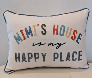 Mimi's House Pillow