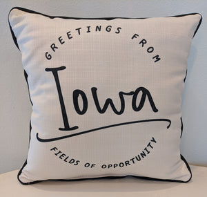 Fields Of Opportunity Pillow