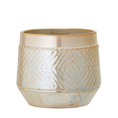 Pearlized Planter