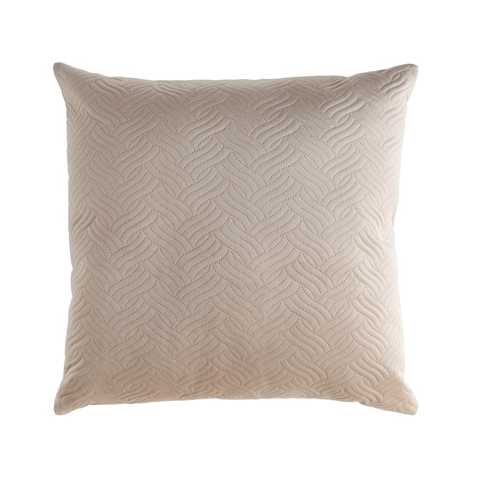 Taupe Square Pillow