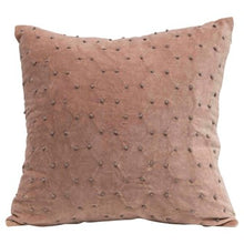 Load image into Gallery viewer, Knot Velvet Pillow