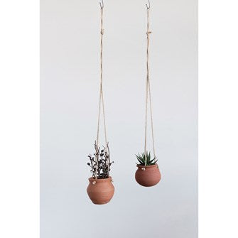 Hanging Terra Cotta Pot