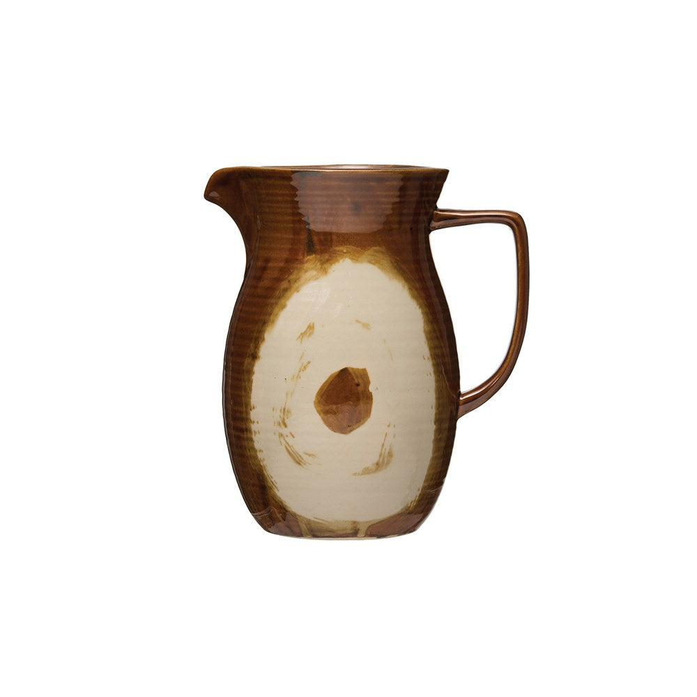 Brown Glaze Pitcher