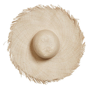 Hand-Woven Palm Hat (store pick up only)