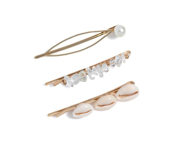 Set Of 3 Hair Pins
