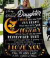 (QL207) Family quilt - To my daughter - I never knew how much