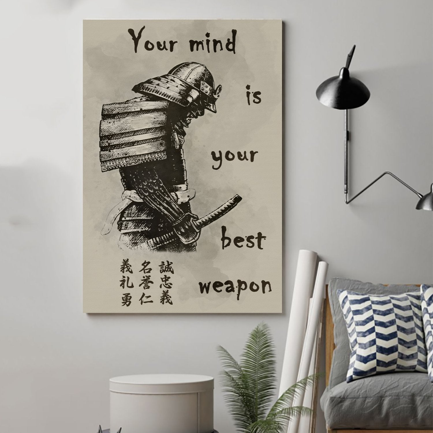 (cv122) samurai Poster - your mind is your best weapon