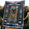 (QL37) LHD soldier quilt - the sea is ours