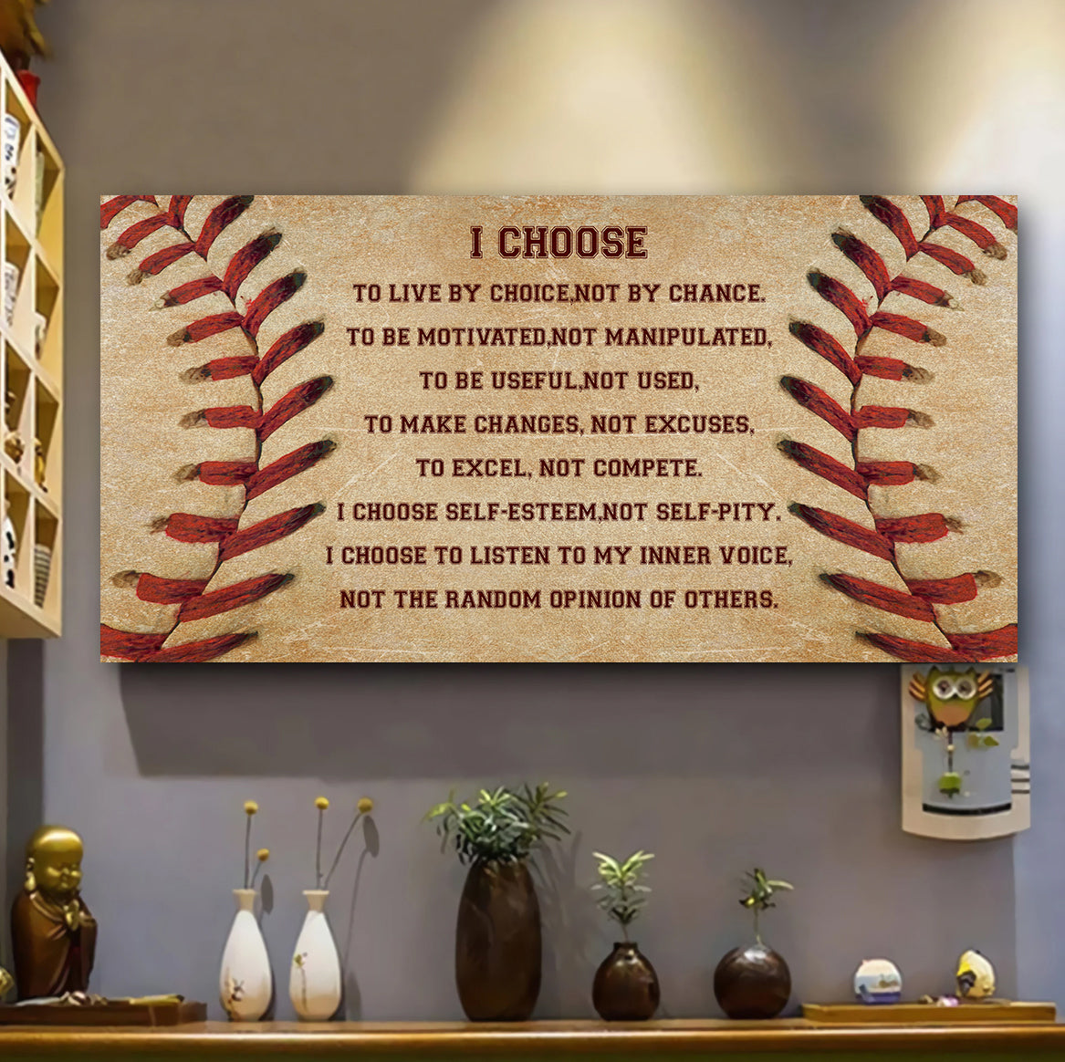 (LP369) Customizable Baseball Poster, canvas - I choose - FREE SHIPPING ON ORDERS OVER 75$