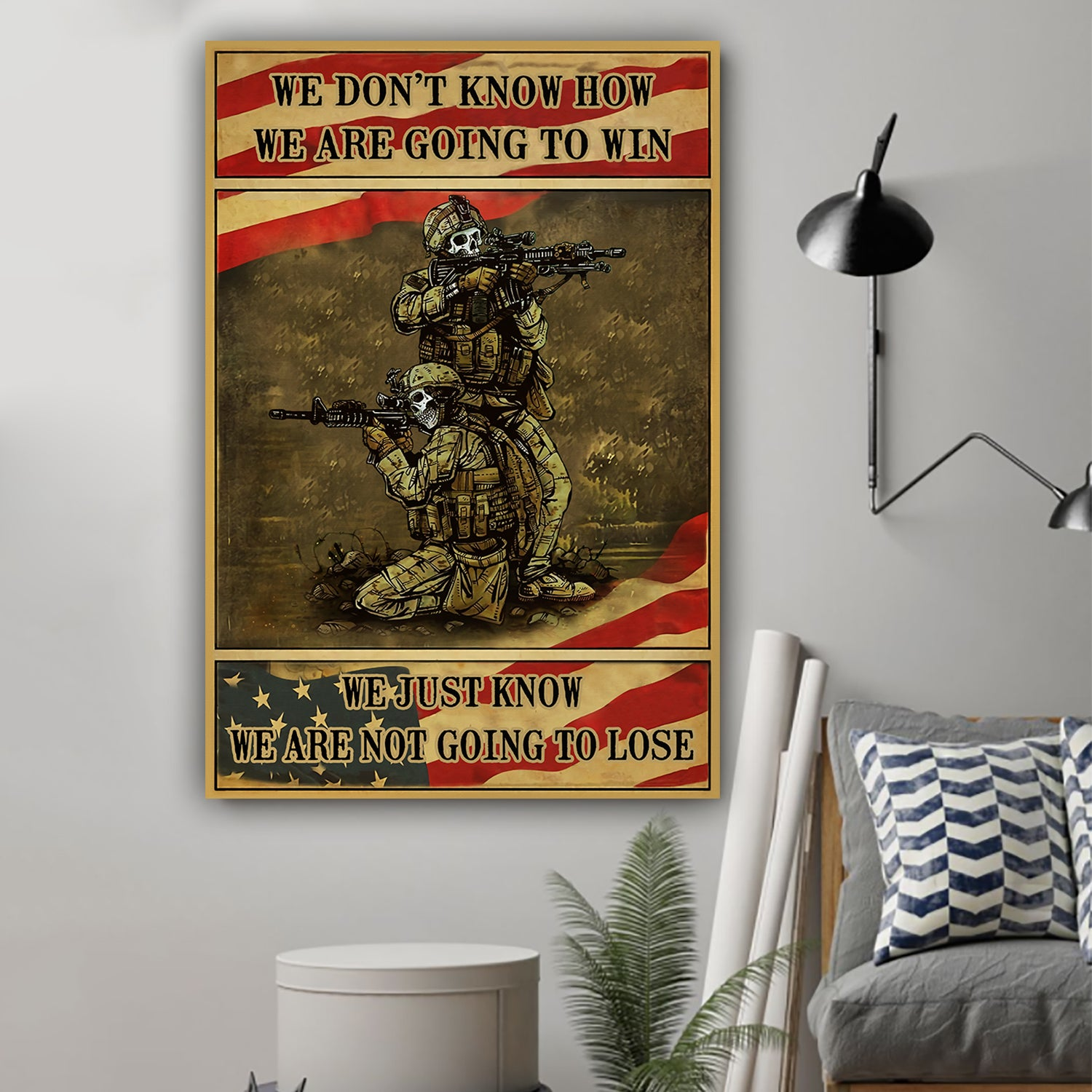 (LP91) Customizable Soldier poster  - We don't know