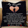 (Ql190) LHD Family quilt - To my daughter - I closed my eyes