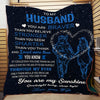 (Ql554) LHD Soldier quilt - Wife to husband - You are braver