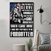 (cv922) LHD soldier Poster - I was prepared