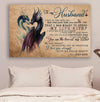 (cv1061) LHD Dragon poster - Wife to husband - I fell in love with you