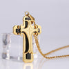Cross Necklace Gold