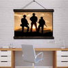 Soldier Wall Art Framed Canvas