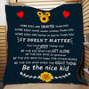 (Ql51) LHD family quilt - be the nice kid vs2