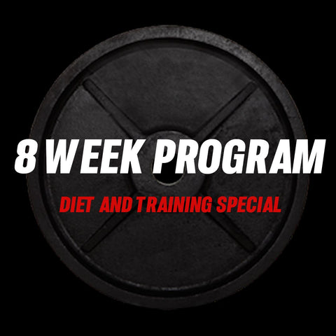 8 Week Diet & Training 1 on 1 coaching
