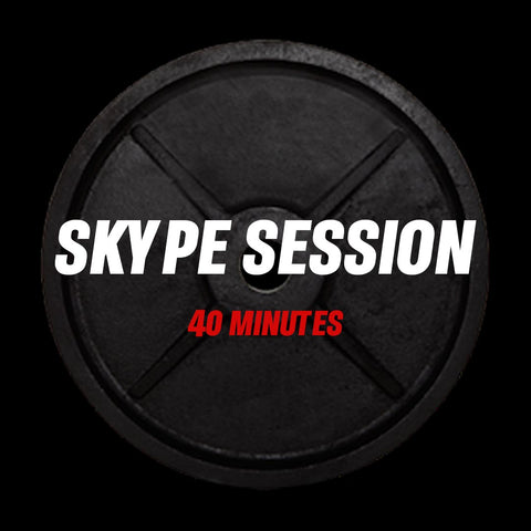 40 minutes Skype Session