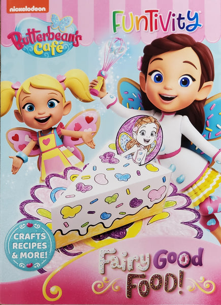 Butterbean's Café Funtivity Book