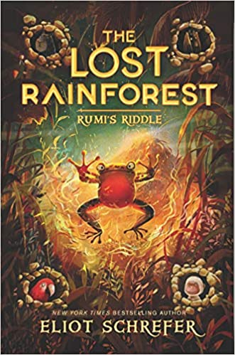 The Lost Rainforest-BK.3: Rumi's Riddle - Eliot Schrefer