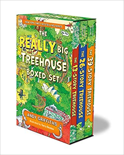 The REALLY Big Treehouse Boxed Set - Andy Griffiths