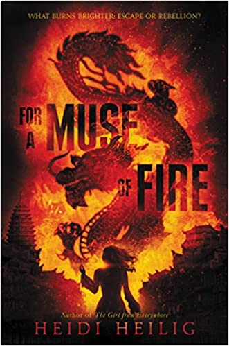 For a Muse of Fire - (Shadow Players Trilogy - Bk.1) - Heidi Heilig