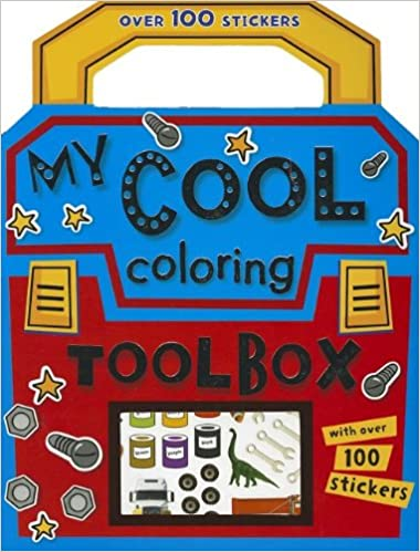 My Cool Coloring Toolbox Coloring Book
