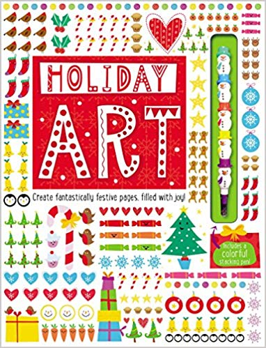 Art Book Holiday Art - Make Believe Ideas Ltd.