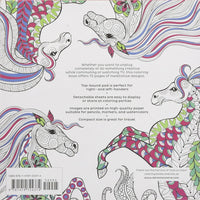 Vive Le Color! Horses (Adult Coloring Book)