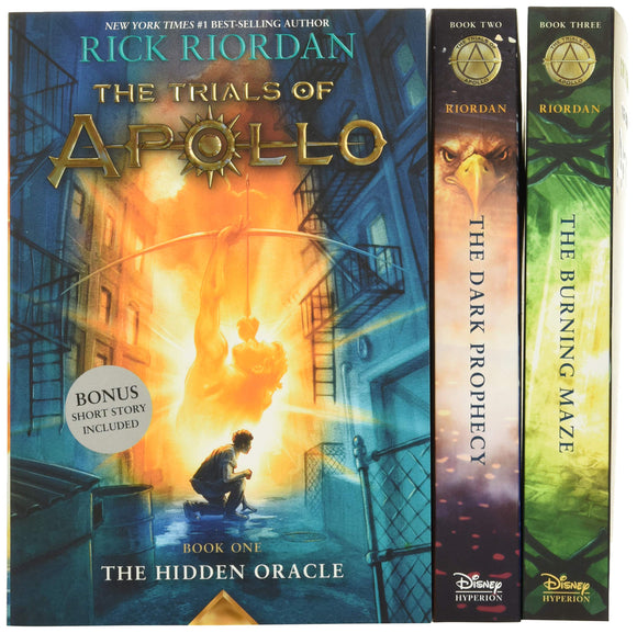 Trials of Apollo, The 3-Book Paperback Boxed Set- Rick Riordan