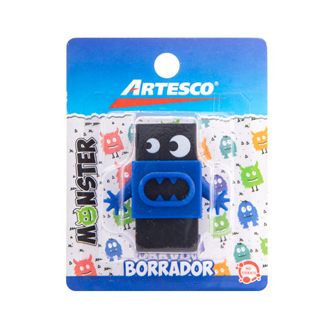 Goma de Borrar Monster - Artesco