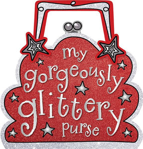 My gorgeously glittery purse - Fiona Boon