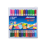 Plumones Duo Color 45 - Artesco
