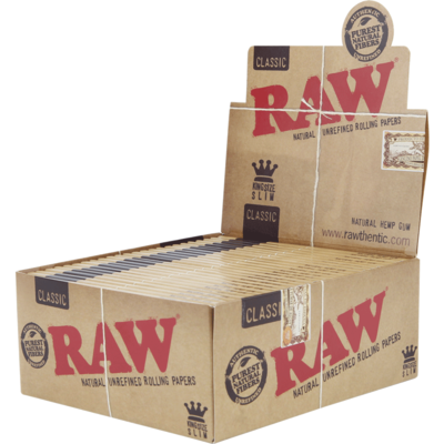 RAW KING SIZE SLIM (1 Pack)
