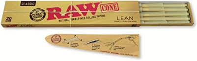Raw Lean- 20 Cones Per Pack