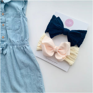 Belle and  Maya Bow Set - Limited - Sweet Tots