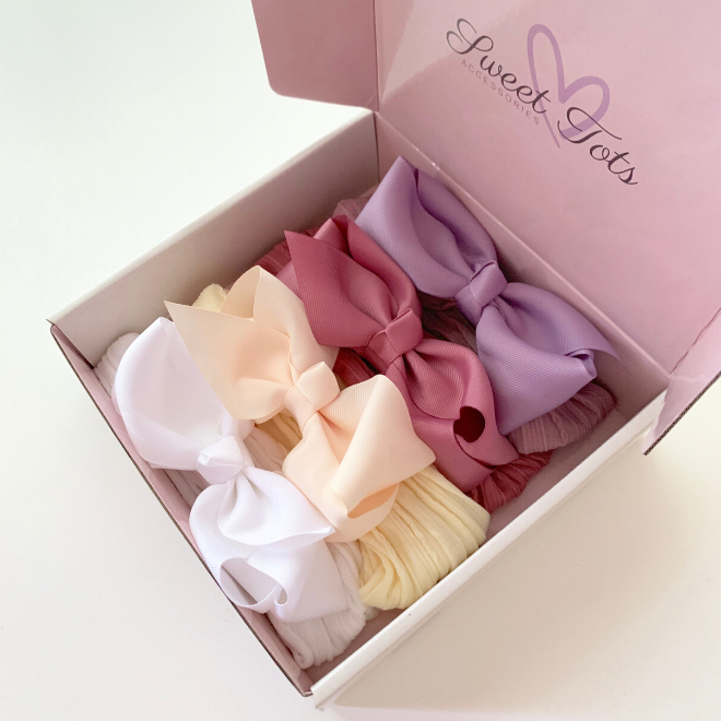 MAYA Bow Gift Set - Sweet Tots