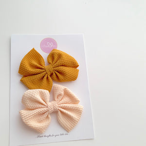 Wendy Pinwheel Hair Clips - Sets - Sweet Tots
