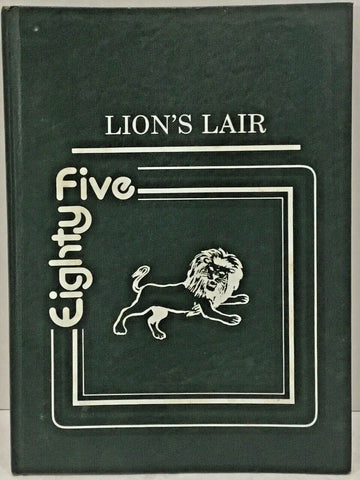 "1985 ""LION'S LAIR"" ANNUAL LIVINGSTON, TEXAS ELEMENTARY SCHOOL YEARBOOK"