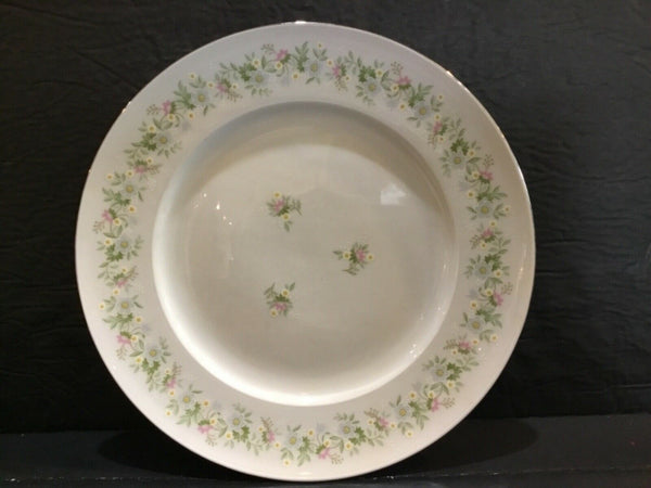 "LOT OF (4) JOHANN HAVILAND BAVARIA GERMANY FOREVER SPRING 10-1/8"" DINNER PLATES"