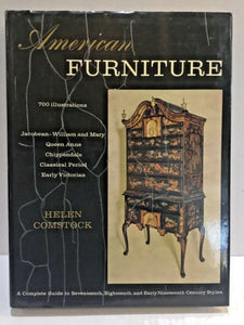 1962 AMERICAN FURNITURE 700 ILLUSTRATIONS BY HELEN COMSTOCK