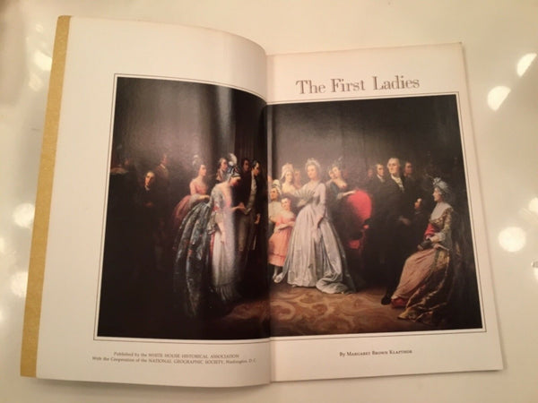 1975 THE FIRST LADIES BY MARGARET BROWN KLAPTHOR