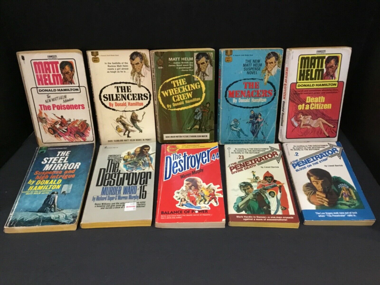 Lot of (10) Assorted Books (Various Authors)