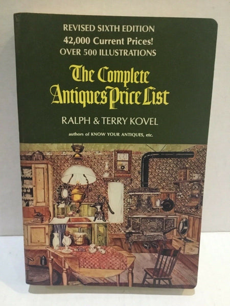 1973, The Complete Antiques Price List, Ralph & Terry Kovel