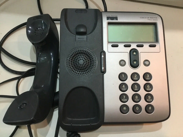 CISCO IP PHONE 7912 SERIES WITH POWER SUPPLY