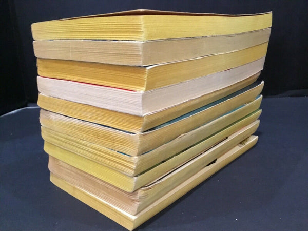 LOT OF (10) PAPERBACK BOOKS BY WARREN MURPHY, LIONEL DERRICK, DONALD HAMILTON