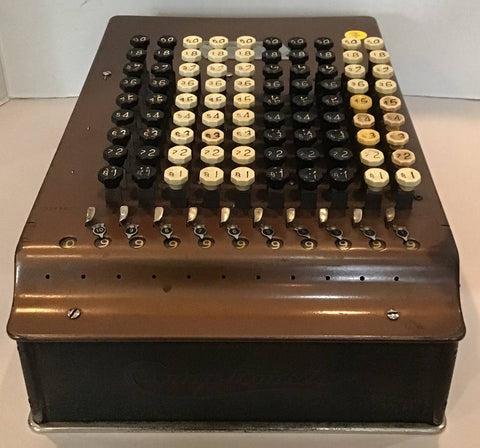 Felt & Tarrant Comptometer Mechanical Adding Machine Calculator